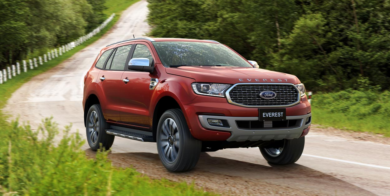 Ford Everest Titanium 2.0L 4×2 AT 20212