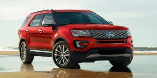 New Ford Explorer 2017