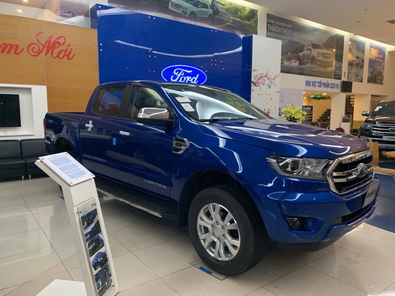 Ford Ranger XLT Limited 2.0L 4X4 AT2