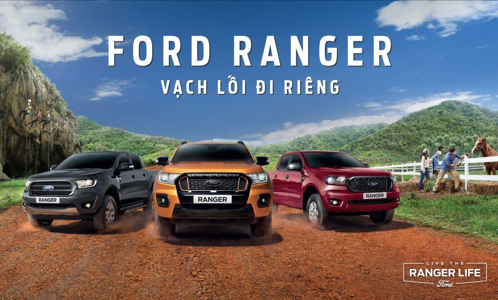 Ra mat xe Ford Ranger và Ford Everest 2021