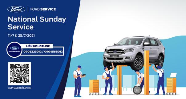 SUNDAY SERVICE CÙNG HÀ THÀNH FORD