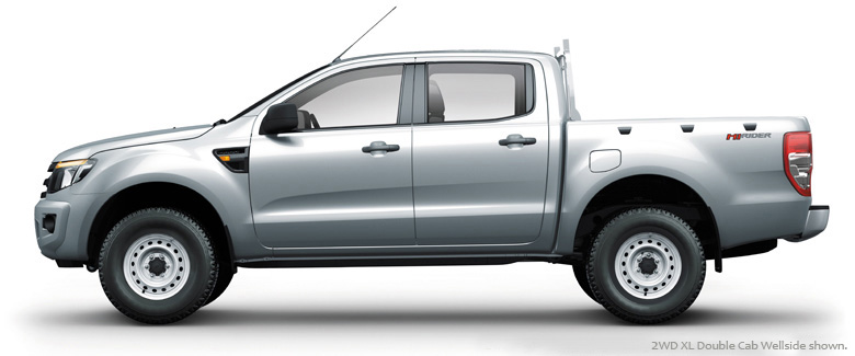 FORD RANGER XL 2.2L 4X4 MT3