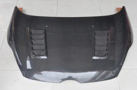 Nắp capo carbon mẫu CS xe Ford Fiesta
