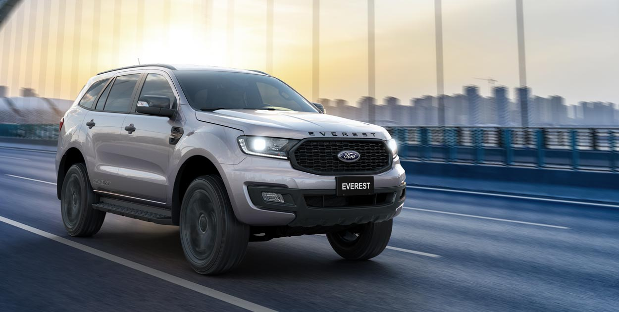 Ford Everest Sport 2.0L 4×2 AT 20212