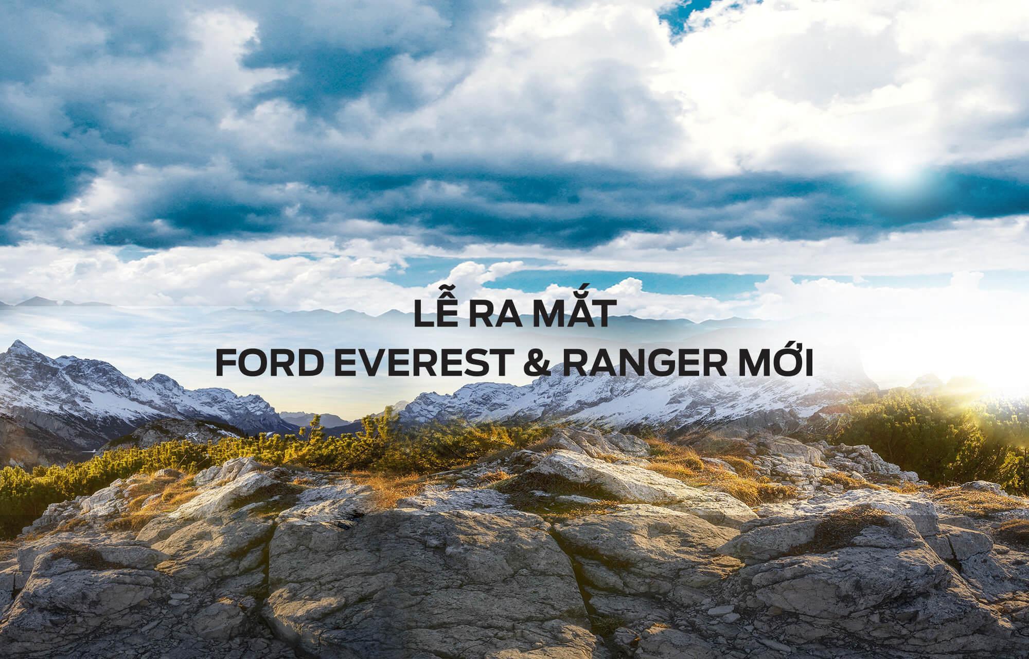 Sự kiện Ra mắt Ford Ranger & Everest 2018 Mới tại Hà Thành Ford