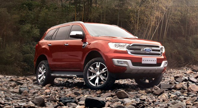 Ford Everest Titanium 3.2L 4×4 AT 20204