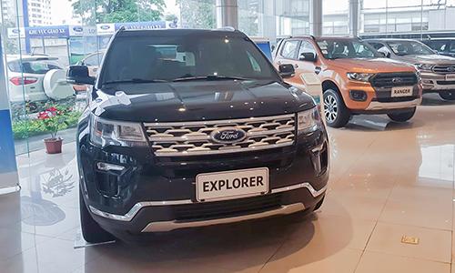 Ford Explorer giảm sốt, dẫn đầu phân khúc SUV đa dụng cỡ lớn