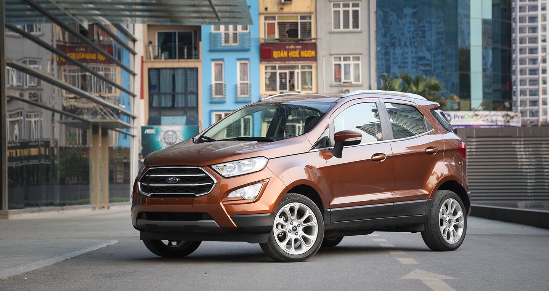 So sánh Ford Ecosport và 2 đối thủ mới ra mắt: Hyundai Kona – Honda HR-V
