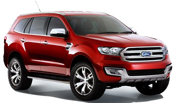 Ford Everest Titanium 3.2L 4×4 AT 20202