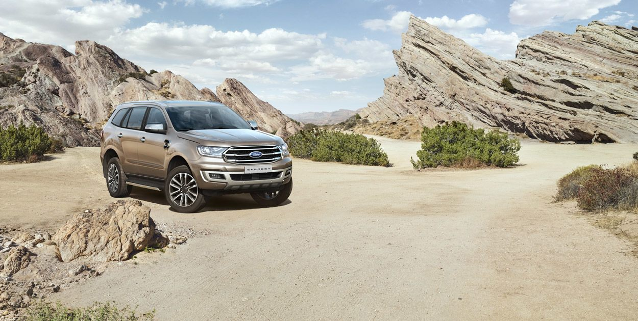 Ford Everest Titanium 2.0L 4×2 AT 20184