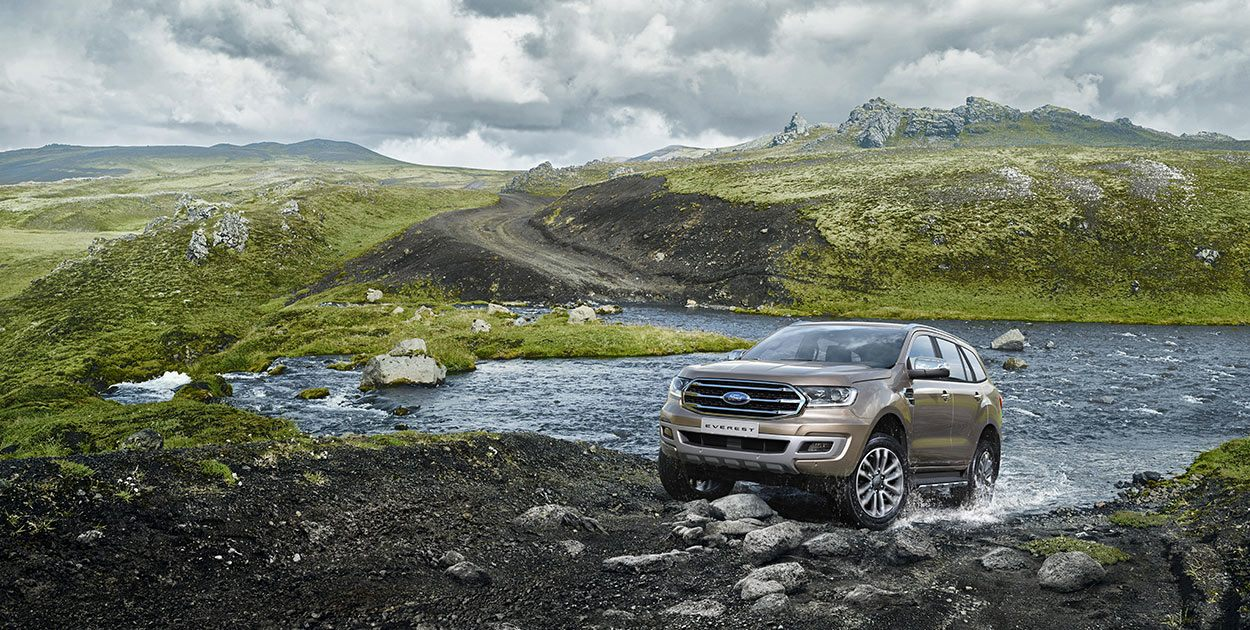 Ford Everest Titanium 2.0L 4×2 AT 20185