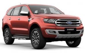 Ford Everest Titanium 2.0L 4×2 AT 2019