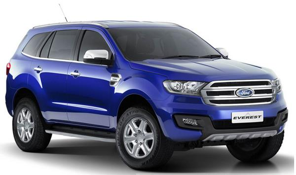 FORD EVEREST 2.0L TREND 4×2 AT3