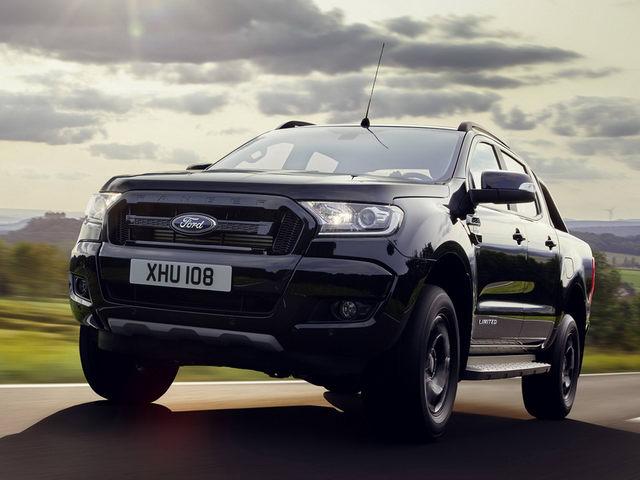 Ford Ranger Black Edition được giới thiệu tại triển lãm ô tô 2017