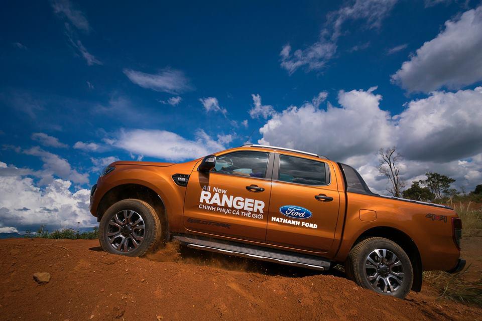 Ford Ranger lập kỷ lục doanh số tại châu Á Thái bình dương năm 2017
