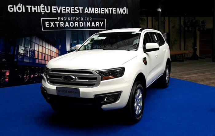 Ford Everest Ambiente 2.2L 4×2 MT3