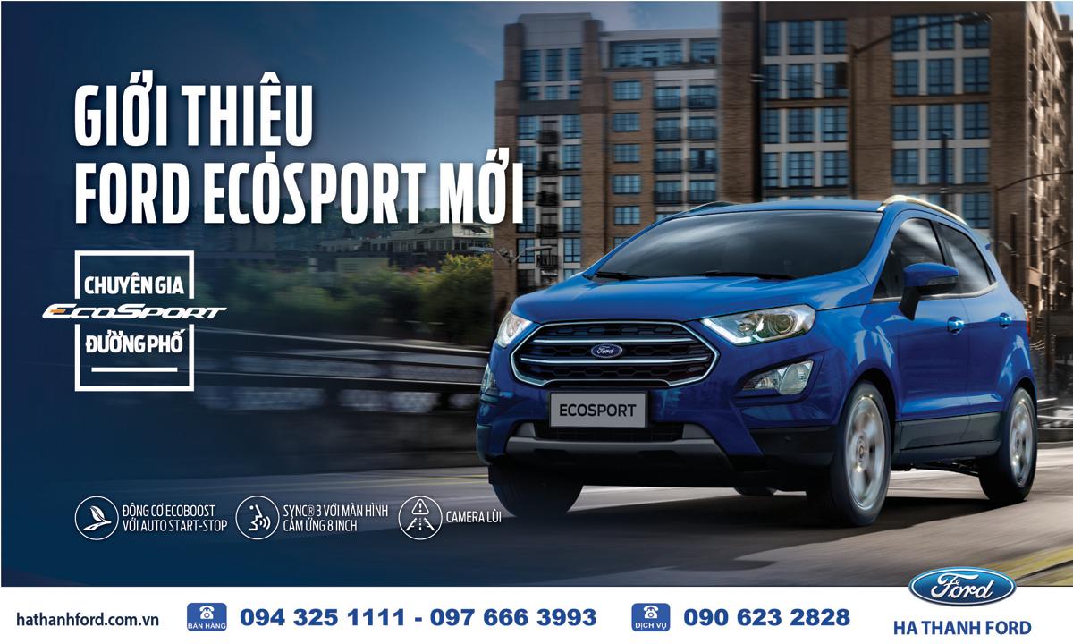 Giới thiệu Ford Ecosport 2018 mới – Lái thử xe sang, ngập tràn quà tặng
