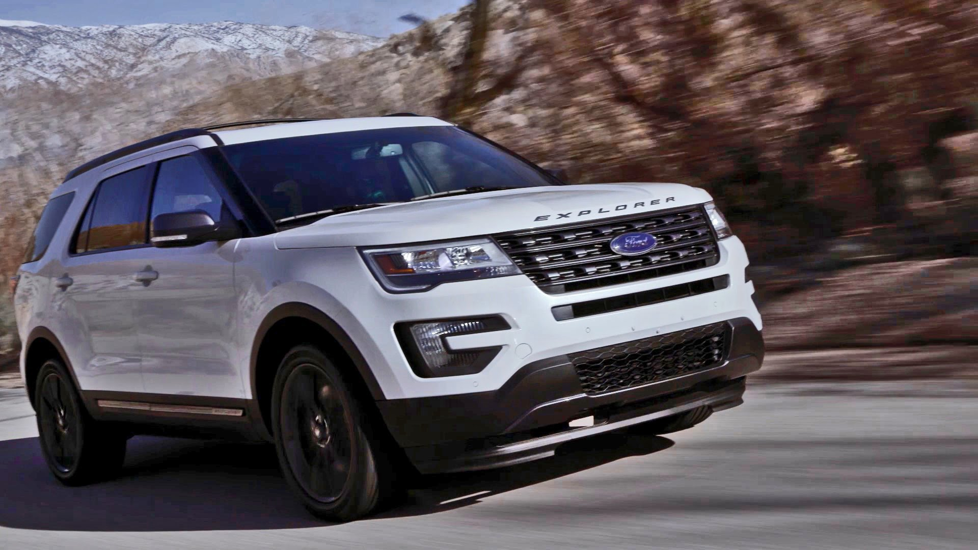 New Ford Explorer 20172
