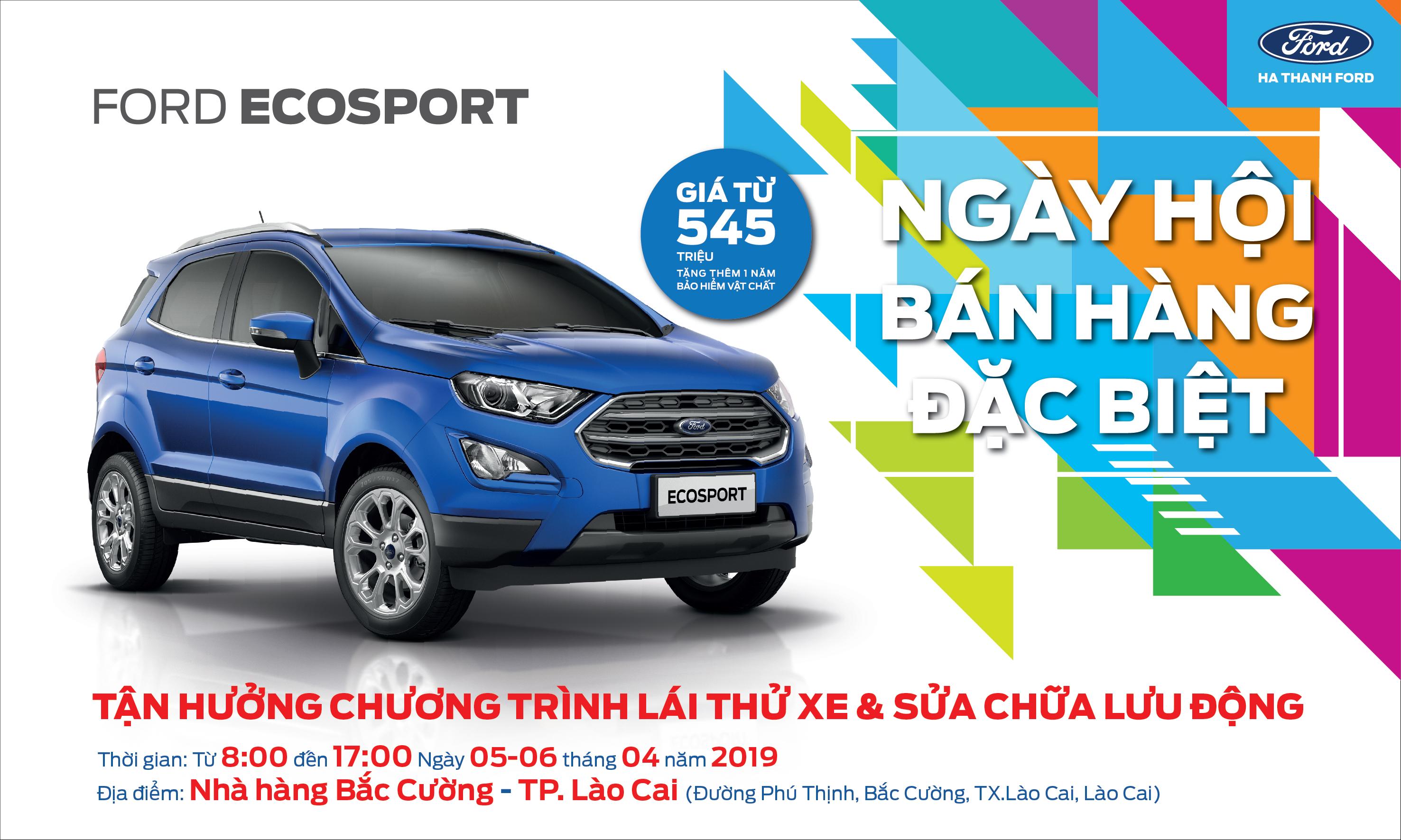 Chương trình lái thử xe và sửa chữa lưu động tại Lào Cai