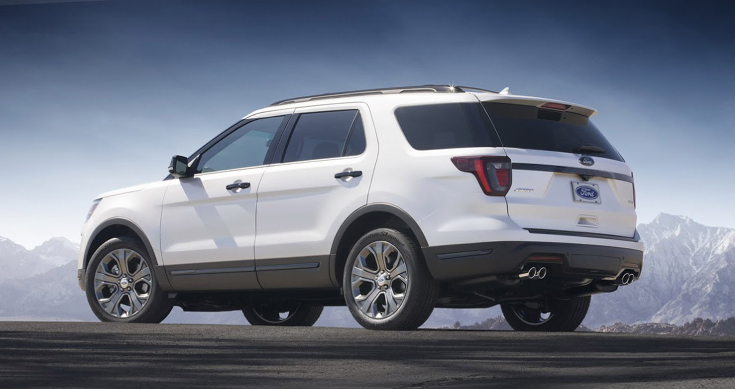 Ford Explorer 2020 New3