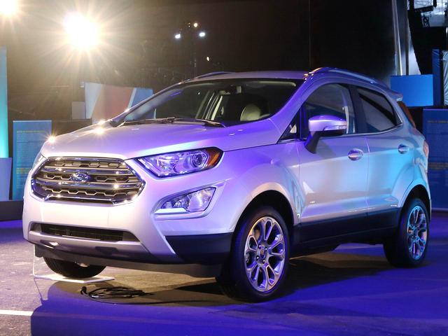 Ford Ecosport Titanium 2018 tại thị trường Mỹ có giá 695 triệu